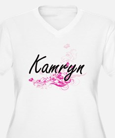 Kamryn Artistic Name Design with Plus Size T-Shirt