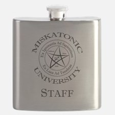 Miskatonic-Staff Flask