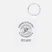 Miskatonic-Staff Keychains