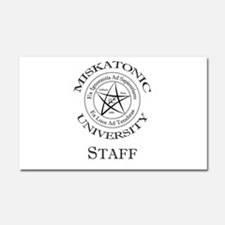 Miskatonic-Staff Car Magnet 20 x 12