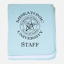 Miskatonic-Staff baby blanket