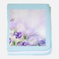 Beautiful Floral baby blanket