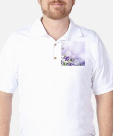 Beautiful Floral Golf Shirt