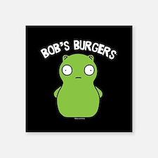 "Bob's Burgers Kuchi Kopi Square Sticker 3"" x 3"""