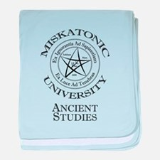 Miskatonic-Ancient baby blanket