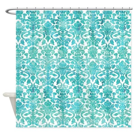 cute pretty shower curtain