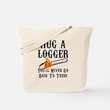 Cute Logging Tote Bag