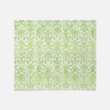 Cute Lime green Throw Blanket