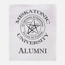 Miskatonic - Alumni Throw Blanket