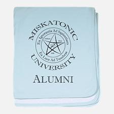 Miskatonic - Alumni baby blanket