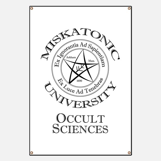 Miskatonic - Occult Banner