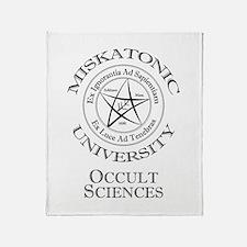 Miskatonic - Occult Throw Blanket