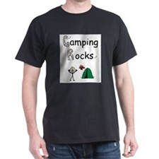 Unique Girls camping T-Shirt
