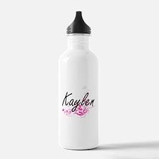 Kaylen Artistic Name D Water Bottle