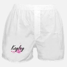Kayley Artistic Name Design with Flow Boxer Shorts