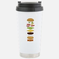 Bob's Burgers Stacked B Travel Mug