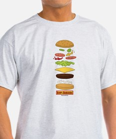 Bob's Burgers Stacked Burger T-Shirt
