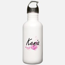 Kenia Artistic Name De Water Bottle