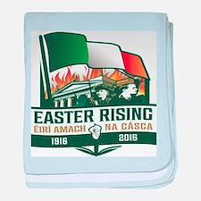Easter Rising (Gaelic) baby blanket