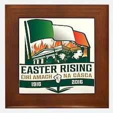 Easter Rising (Gaelic) Framed Tile