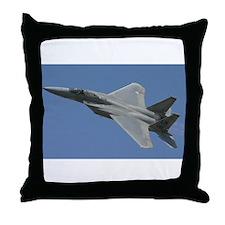 Unique F 15 eagle Throw Pillow