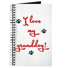Cute Paws heart Journal