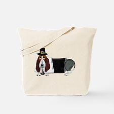 Basset Hound Pilgrim Tote Bag