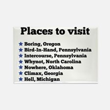 Places to visit Magnets