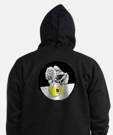 Twisted Billiard Halloween 9 Bal Zip Hoodie