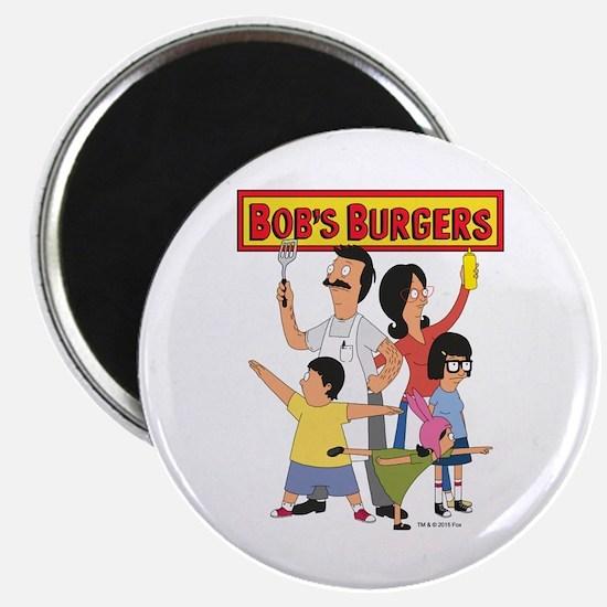 Bob's Burger Hero Family Magnet