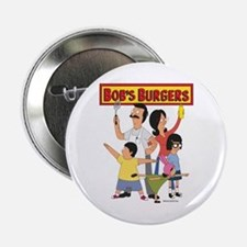 "Bob's Burger Hero Family 2.25"" Button"