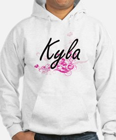 Kyla Artistic Name Design with F Hoodie