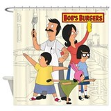 Bobsburgerstv Shower Curtains