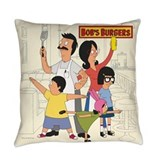 Bobsburgerstv Burlap Pillows