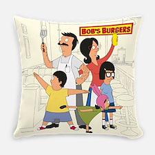 Bob's Burger Hero Family Everyday Pillow