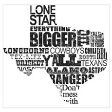 Texas Proud Poster