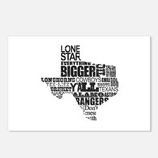 Texas Proud Postcards (Package of 8)