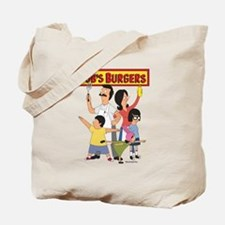 Bob's Burger Hero Family Tote Bag
