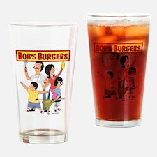 Bob's Burger Hero Family Drinking Glass