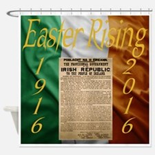 Easter Rising Centenary Shower Curtain