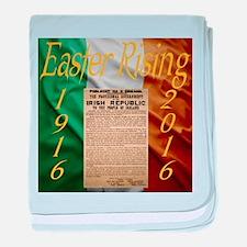 Easter Rising Centenary baby blanket