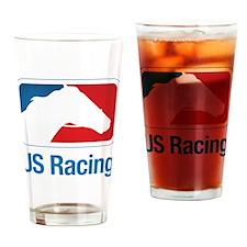 US Racing - Horse Head Slogan, Light Background Dr