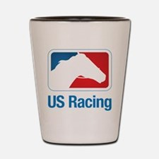 US Racing - Horse Head Slogan, Light Background Sh