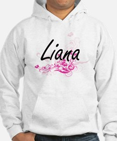 Liana Artistic Name Design with Hoodie