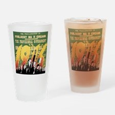 Easter Rising Proclamation Drinking Glass