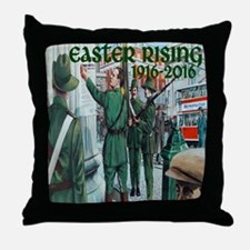 Easter Rising Proclamation 2 Throw Pillow