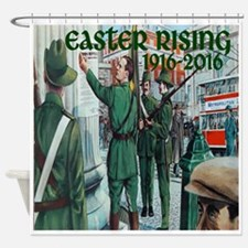 Easter Rising Proclamation 2 Shower Curtain
