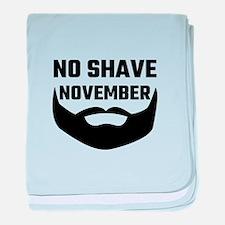 No Shave November baby blanket