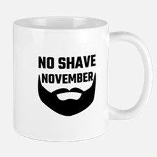 No Shave November Mugs