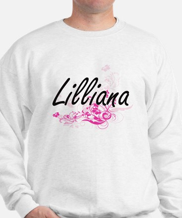 Lilliana Artistic Name Design with Flow Sweater